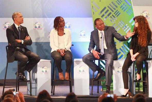 El presidente de EEUU ha promovido África como un centro para el crecimi...