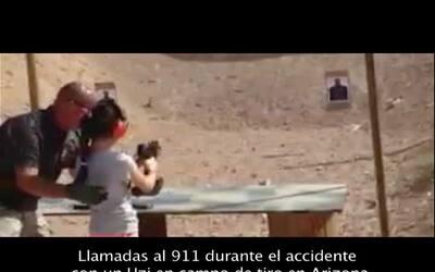 Las desperadas llamadas al 911 durante el accidente en campo de tiro