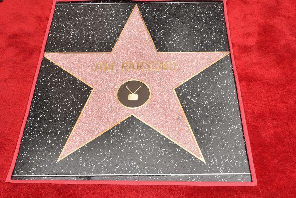 Aquí un acercamiento a la estrella de Jim.