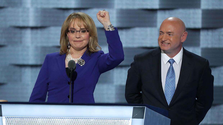 """Gabrielle Giffords quiere decir estas palabras: """"Señora presidenta"""""""
