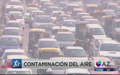 Los efectos de la contaminación del aire en la salud de los niños