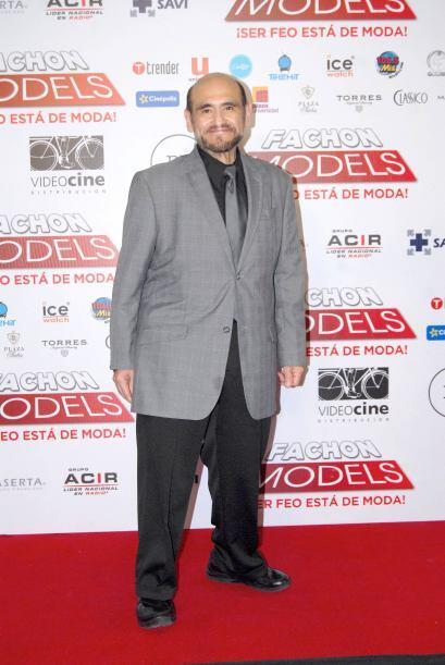 """El querido Edgar Vivar fue invitado a la premiere de la película """"Fachon..."""