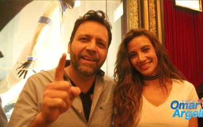 Omar y Argelia se metieron hasta los camerinos del show 'Michael Jackson...