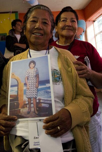 Una mujer que vio la foto de la hija de Gutiérrez informó al albergue qu...