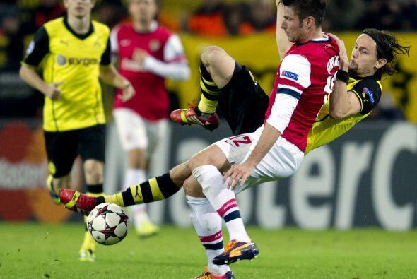 Los Gunners ya se enfrentaron al BVB dos veces en los tres años r...
