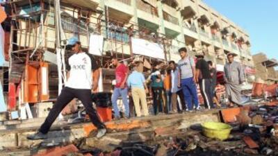 Al menos 82 personas perdieron la vida en una quincena de atentados en I...