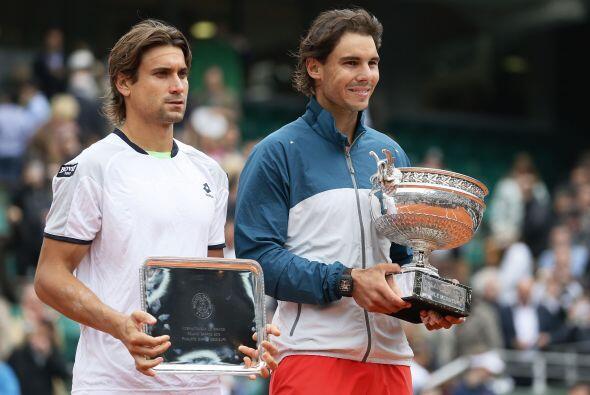 Rafa Nadal logró una vez más superarse a sí mismo y derrotó en la final...