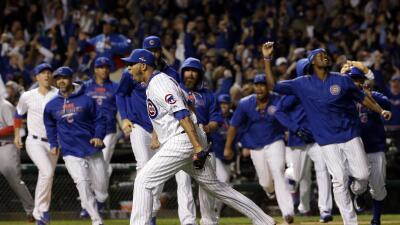 Chicago Cubs no llegaban desde el 2003.