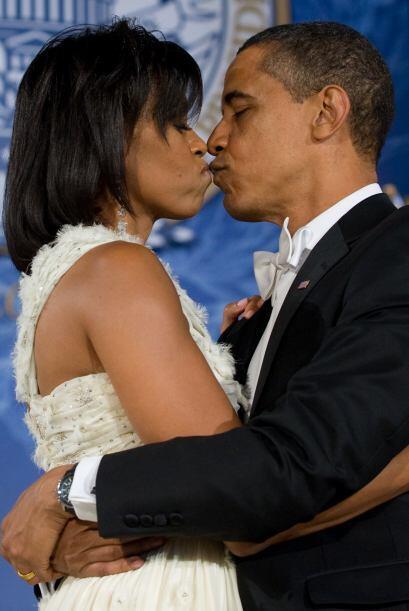 En enero 2009 fue su primer baile como Presidente y primera dama. Despué...