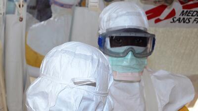 OMS: ébola está fuera de control