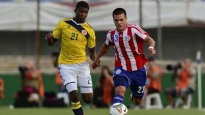 Luis Orejuela, de Colombia; y Brahian Ayala, de Paraguay.