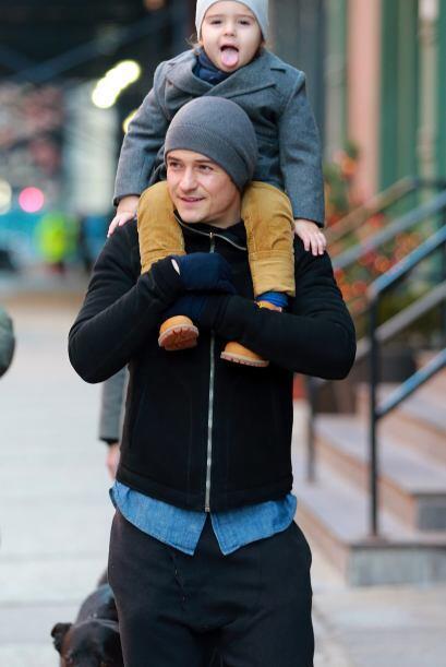 El actor Orlando Bloom es otro de los fanáticos a los gorros, &ie...