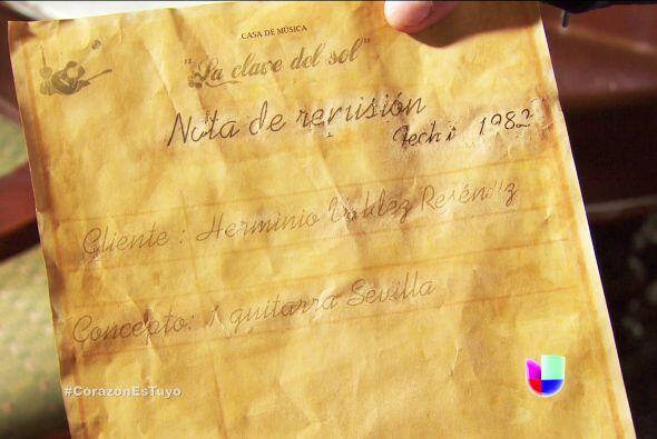 Eres fantástico Diego, ¡encontraste la compra de nota de la guitarra de...