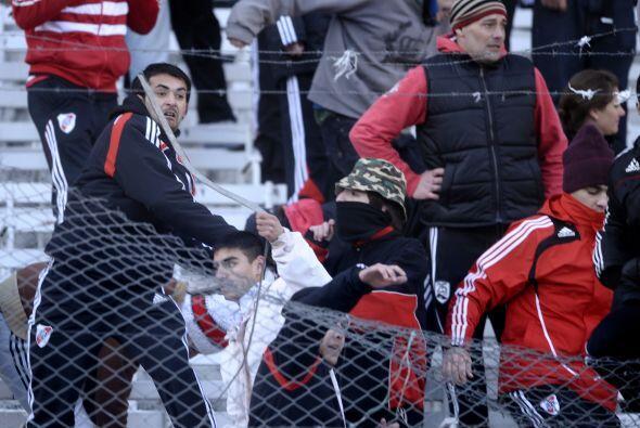 Luego del partido en que River empató 1-1 con Belgrano de C&oacut...