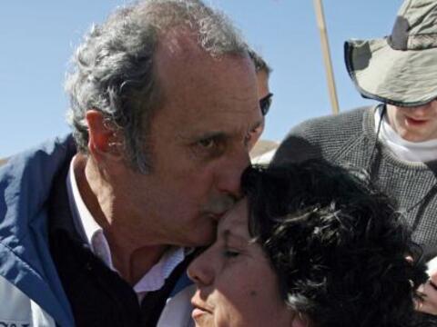 Cuatro ex rugbistas uruguayos sobrevivientes de la tragedia de los Andes...