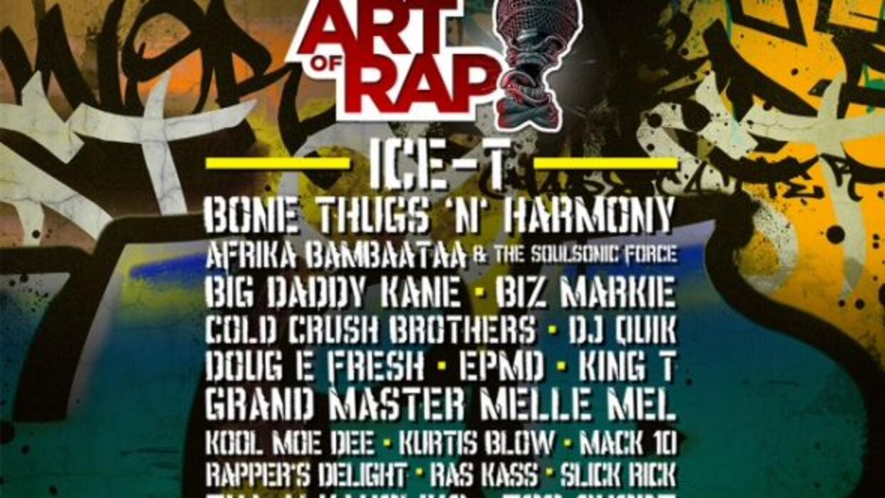 "HOT 105.7 and 100.7 FM invites you to the ""Art of Rap Festival""! Sunday,..."