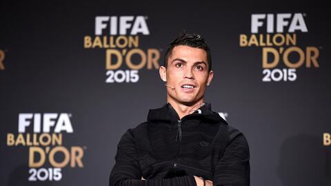 Cristiano se quedó con las ganas de ganar el Balón de Oro...