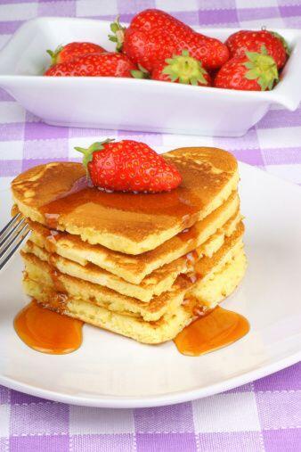 Otra receta bastante fácil de realizar son los deliciosos 'pancak...