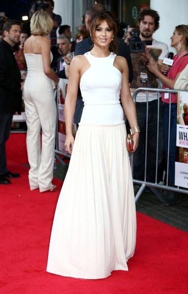 Cheryl Cole es otra diva que luce divinos los diseños de la ex cantante...