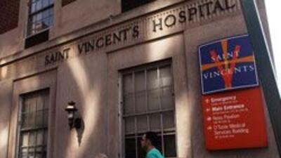 Junta directiva del hospital St. Vincents de Manhattan informaron su cie...