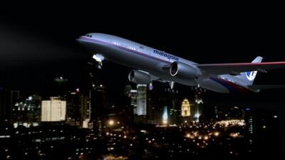 Ayuda a encontrar el avión perdido de Malaysia Airlines