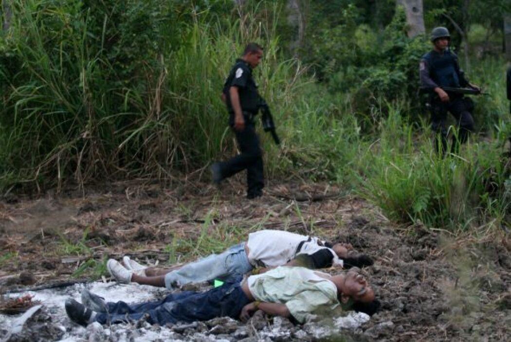 El año más violento fue el 2010, reconoció el presidente Felipe Calderón.