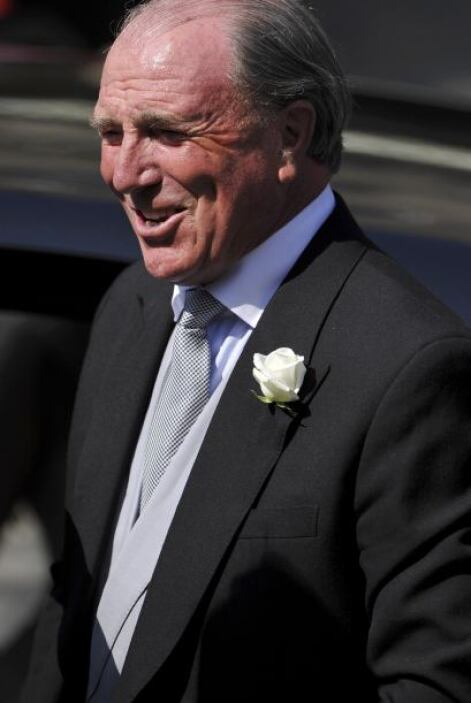 Mark Phillips: Jinete británico, fue el primer esposo de la princesa Ana...