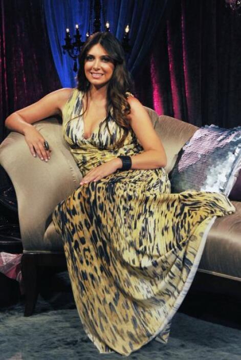 Brittny Gastineau, ex novia de Luis Miguel, es una mujer de altura. Mira...