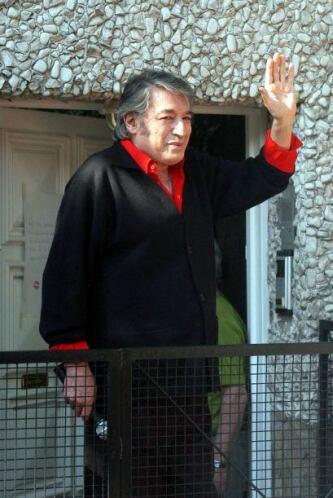 La más molesta con todo esto es la viuda del cantante, Olga Garaventa, p...