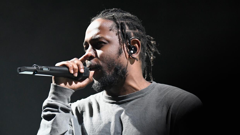 LOS ANGELES, CA - AUGUST 27: Hip-hop artist Kendrick Lamar performs onst...