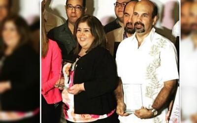 Felicidades a Maribel Filippetti y José Luis Caballero, empleados del año