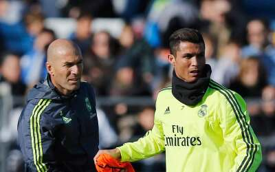 Cristiano estaría en condiciones para que Zidane lo incluya ante el City.