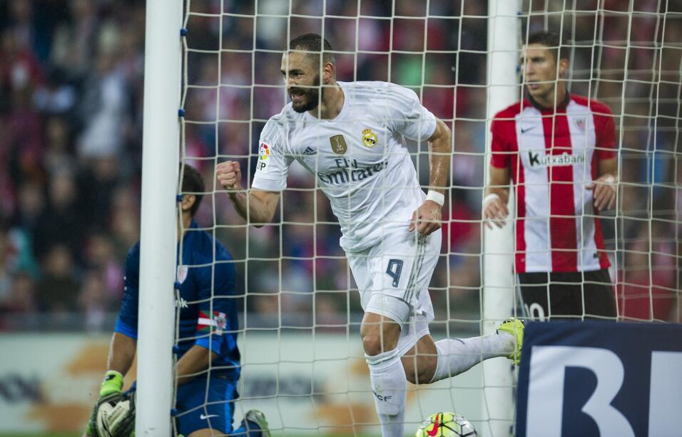Athletic de Bilbao 1-2 Real Madrid: Benzema los lleva al liderato con do...