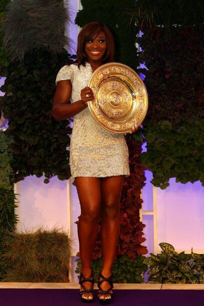 Las lentes de la prensa internacional no se agotaron de captar a Serena,...