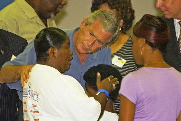 Su respuesta a la tragedia causada por el huracán Katrina en New...