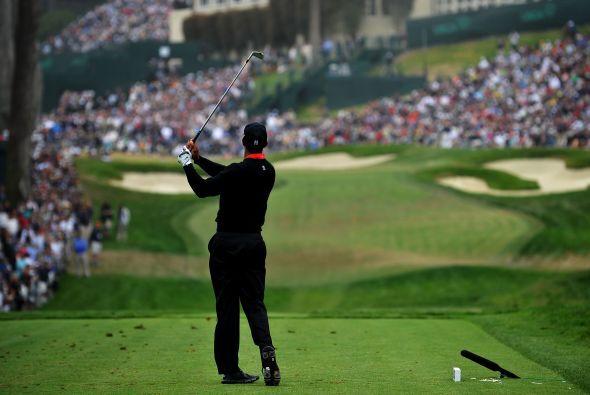 Lugar 3: Es ocupado por el golfista Tiger Woods.