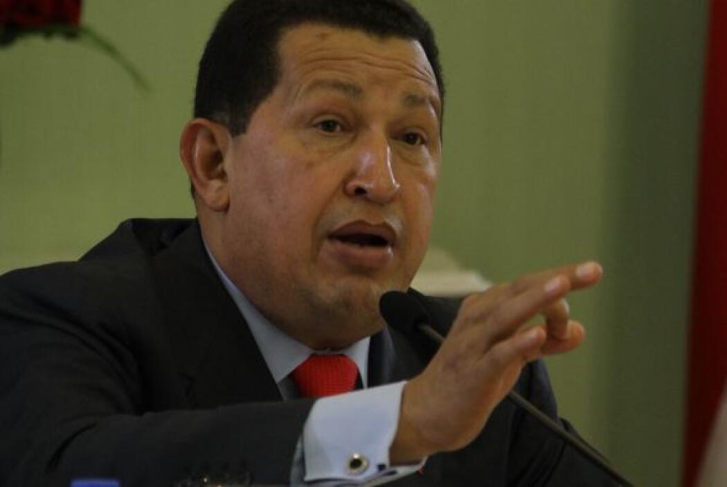 Chávez exaltó, en cadena de radio y televisión, los logros de su gobiern...