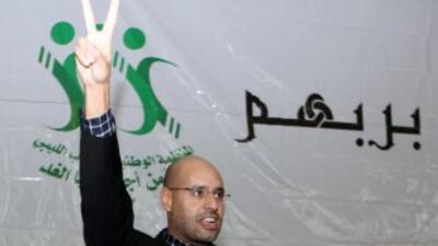 Seif, hijo de Moamar Gadafi, puede ser quien se quede en el poder.