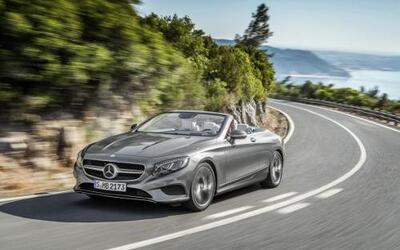 La firma alemana presentó el Mercedes-Benz Clase S Cabriolet 2017.