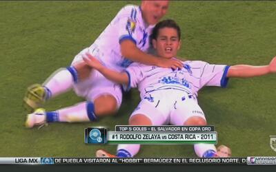 El Top 5 de goles de El Salvador, para volver a festejar