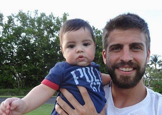 El hijo del famoso futbolista Gerard Piqué sacó el lado de...