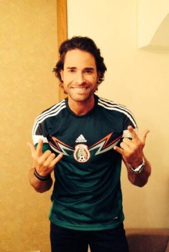 Sebastián Rulli Todo sobre el Mundial de Brasil 2014.