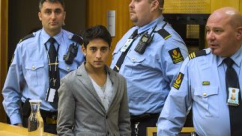 Adán Cortés Salas compareció ante un tribunal en Oslo.