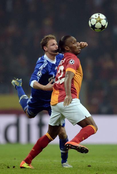Con refuerzos como el marfileño Didier Drogba, el Galatasaray apostaba p...
