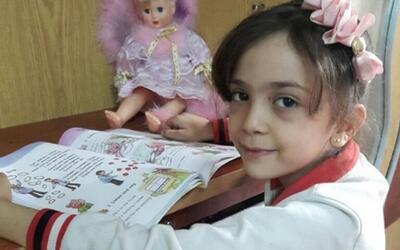 En video: la guerra siria a través de los ojos de una niña de 7 años