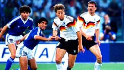 Alemania y Argentina en 1990, los germanos cobraron venganza en la final