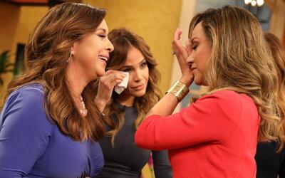 Detrás de cámaras: Neida Sandoval hizo llorar a Satcha en su regreso a D...