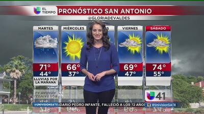 Alertas por clima severo en San Antonio