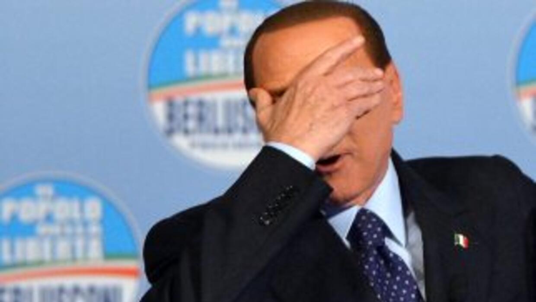 El ex primer ministro italiano, Silvio Berlusconi.
