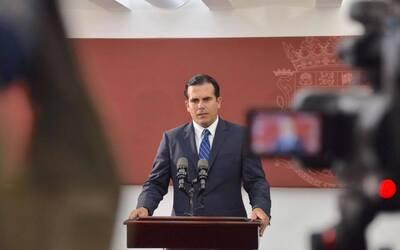 El gobernador electo, Ricardo Rosselló, ofrece una conferencia de...